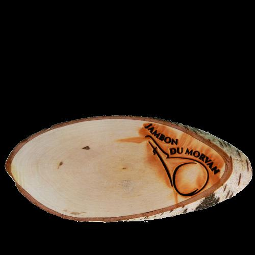 """Planche à découper en bois """"Jambon du Morvan"""""""