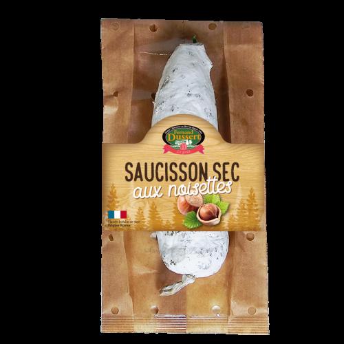 Saucisson sec aux noisettes 200g Fernand Dussert