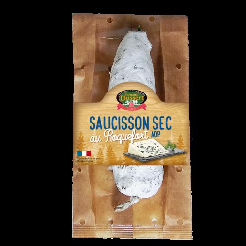 Saucisson sec au Roquefort AOP 200g Fernand Dussert