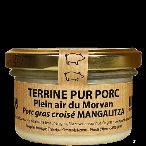 Terrine pur porc plein air du Morvan croisé Mangalitza 80g (poids net 50g)